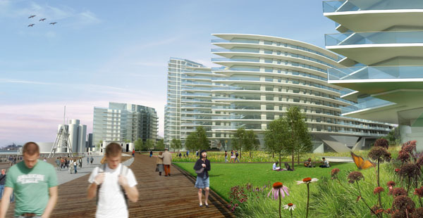 Wharfside Development, London